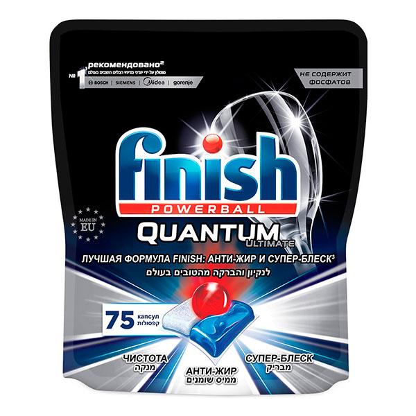Средство для посудомоечных машин Finish Quantum powerball 75 таб