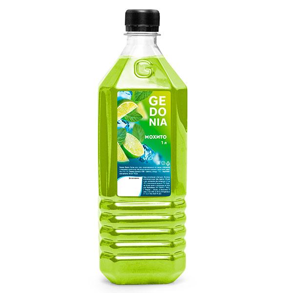 Напиток Gedonia Мохито 1 литр, без газа, пэт, 16 шт. в уп.