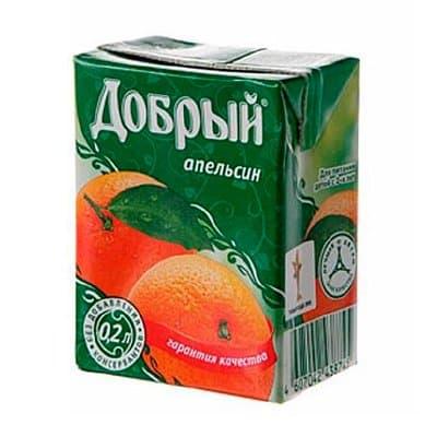 Добрый Апельсин 0,2л (27шт.)