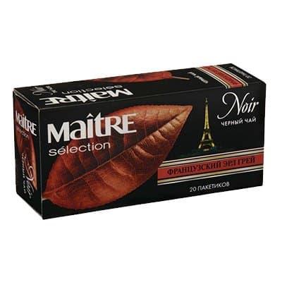 Чай Maitre Французский Эрл Грей черный (20пак) фото