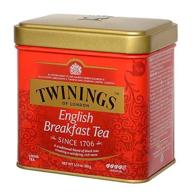 Чай Twinings черный English breakfast листовой 100 гр фото