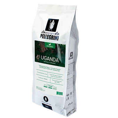 Кофе La Famiglia Pellegrini Uganda Organic зерно 500 гр фото