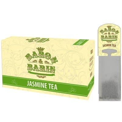 Чай саше для чайника Baron&Barin Jasmine Tea (15 пак)
