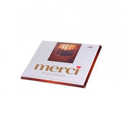Конфеты Merci горький шоколад 250г (1шт.)