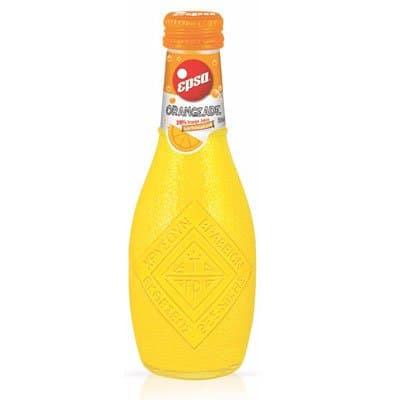 Epsa / Эпса напиток портокалада (апельсин) 0,232л газ ст. (6шт.)