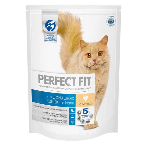 Корм для кошек Perfect Fit для взрослых кошек Курица 190 гр фото