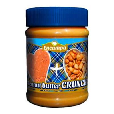 Купить со скидкой Паста арахисовая Кранчи Encampa с кусочками арахиса 340 гр