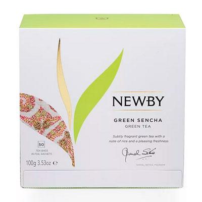 Чай Newby Green Sencha зелёный 50 пак фото