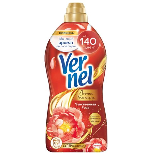 Кондиционер Vernel супер концентрат Чувственная Роза 1740 мл