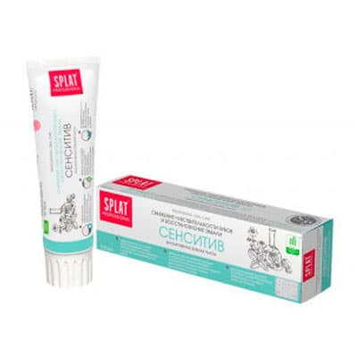 Зубная паста Splat сенситив биоактивная 100 мл фото