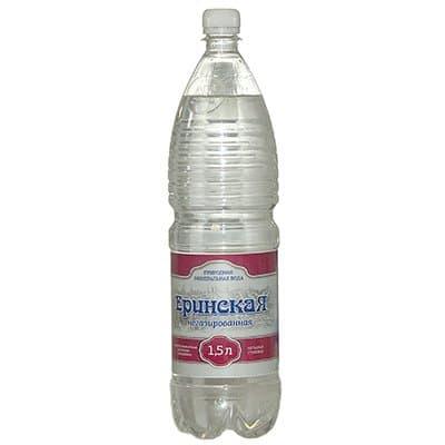 Вода Еринская 1,5л. природная столовая б/г пэт (6шт)
