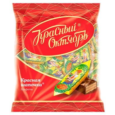 Фото #1: Конфеты Красная шапочка Красный Октябрь 250 гр