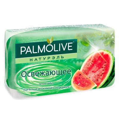 Мыло Palmolive натурэль освежающее летний арбуз 90 гр 5 шт. в уп. фото