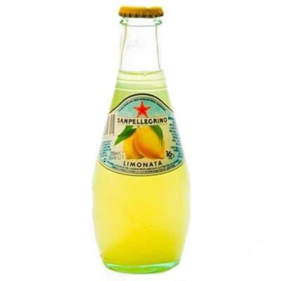 S.Pellegrino / С.Пеллегрино лимон 0.2 литра, газ, стекло, 24шт. в уп.