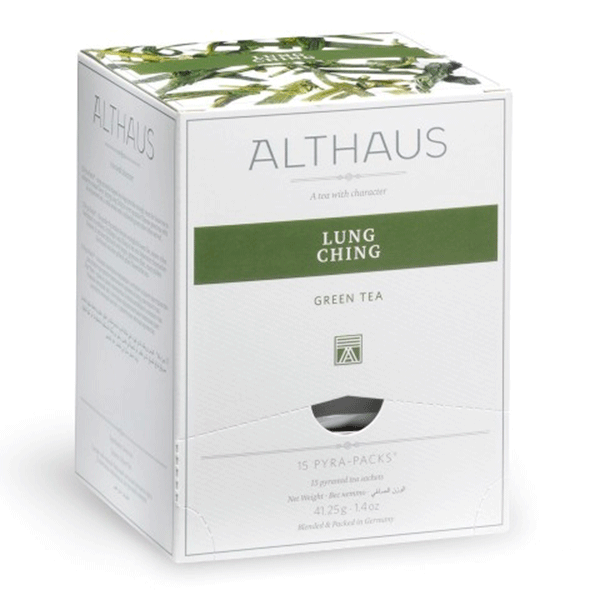 Чай зеленый Althaus Lung Ching 15 пак. в уп.