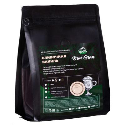 Кофе Brai Gran Сливочная Ваниль зерно в/у 200 гр фото