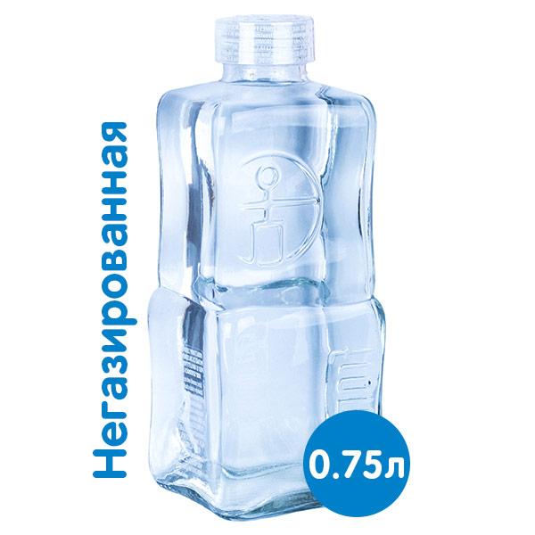 Вода Fromin 0.75 литра, без газа, богемское стекло, 6 шт. в уп.