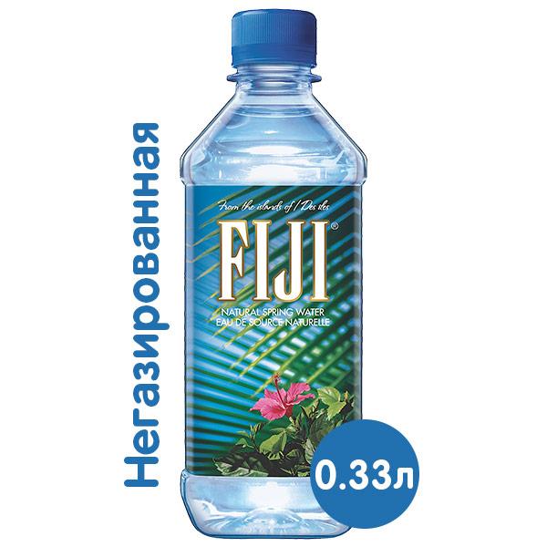 Вода Fiji 0,33 литра, без газа, пэт, 36 шт. в уп. фото