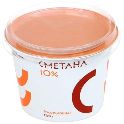 Сметана Братья Чебурашкины 10% БЗМЖ 200 гр фото