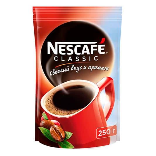 Кофе растворимый Nescafe Classic м/у 100 гр.