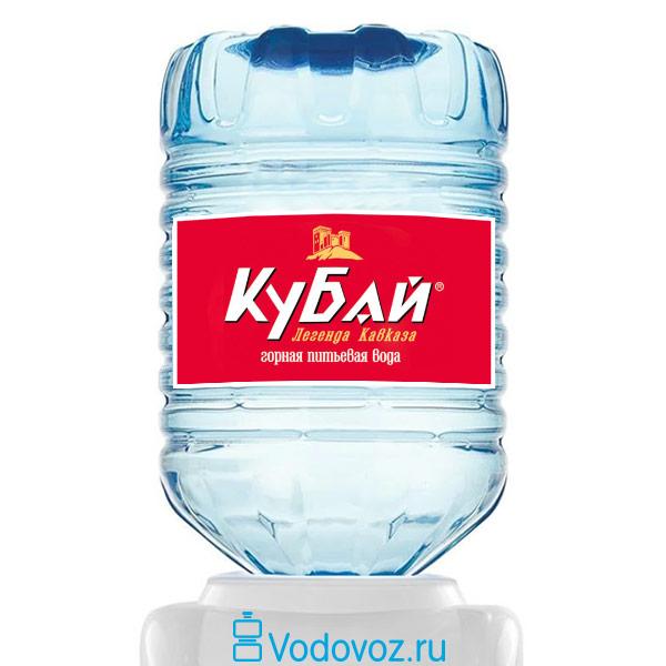 Вода Кубай 19 литров в одноразовой таре