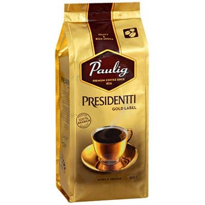 ���� Paulig Presidentti Gold Label ����� �/� (250��)