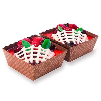 Пирожное Тирольские ягодное ассорти 230 гр
