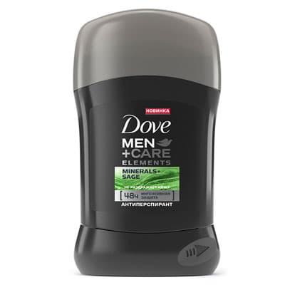 Антиперспирант карандаш Dove Men+Care свежесть минералов и шалфея 50 мл фото