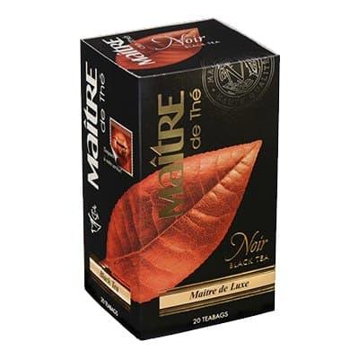 Чай Maitre де Люкс черный (20пак)