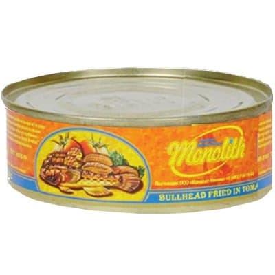 Бычки обжаренные в томатном соусе Монолит 240 гр.