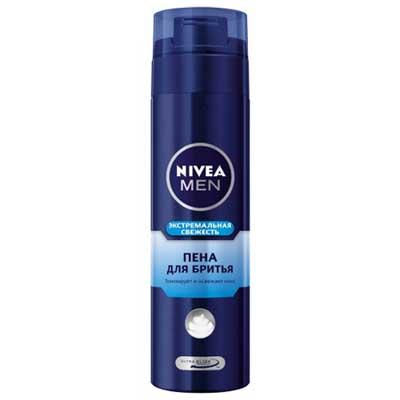 Пена для бритья NIVEA экстримальная свежесть 200мл. (1шт.)