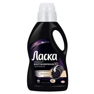 """Ср/стирки """"Ласка"""" магия черного 2л."""