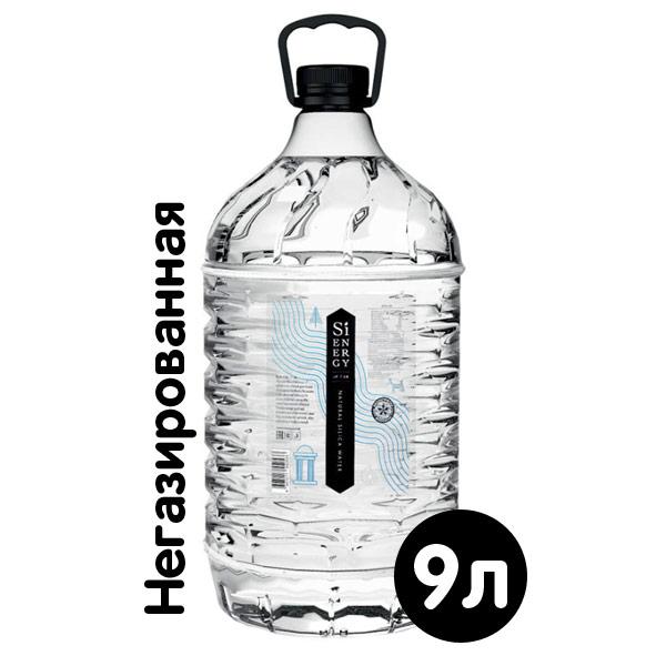 Кремневая родниковая вода Sienergy для кулера 9 литров фото