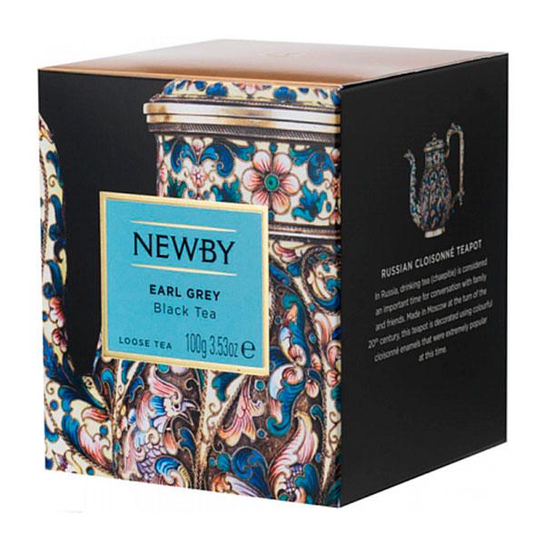 Newby Эрл Грей лист. (100гр) фото