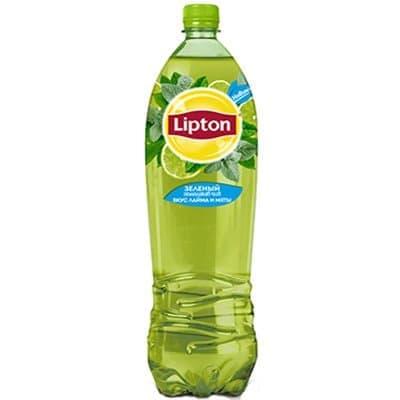 Lipton Ice Tea / Липтон Зеленый лайм и мята 1,5л пэт (6шт)