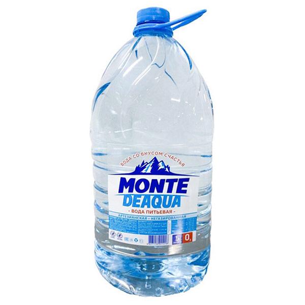 Вода Monte Deaqua 5 литров, 2 шт. в уп.
