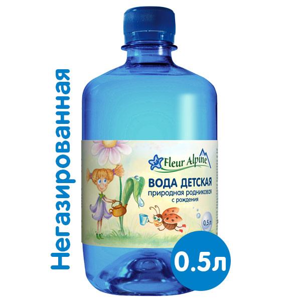 Вода Fleur Alpine 0,5 литра, без газа, пэт, 12 шт. в уп. фото