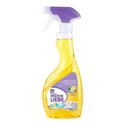 Универсальный спрей Meine Liebe для кухонных поверхностей лимон 500 мл фото