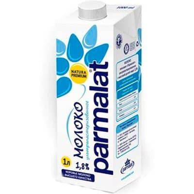 Молоко Пармалат 1,8% 1л (12шт)