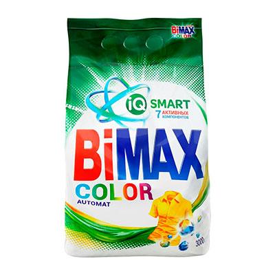 Стиральный порошок Bimax color автомат 3 кг фото