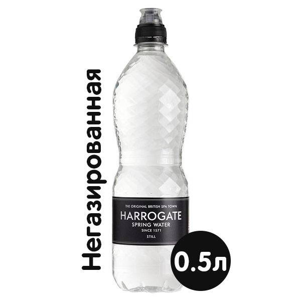 Купить со скидкой Вода Harrogate Spa / Харрогейт Спа 0.5 литра, спорт, без газа, пэт, 24 шт. в уп.