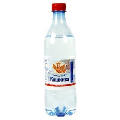 Вода Кашинка 0.6 литра, газ, пэт, 12шт. в уп.