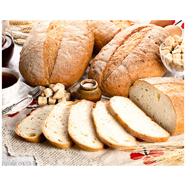 Хлеб деревенский на кефире с сыром Ферма М2 400 гр