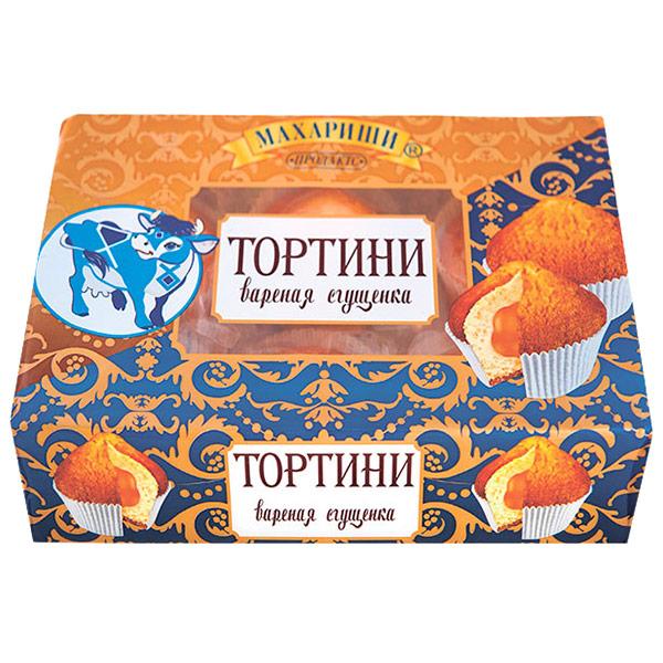 Кексы Махариши Тортини с вареной сгущенкой 200 гр