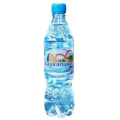 Вода Байкалика 0.5 литра, без газа, пэт, 12шт. в уп.