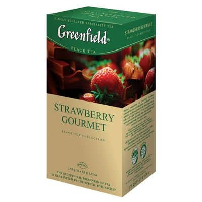 Greenfield / Гринфилд Strawberry Gourmet (25пак)