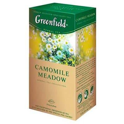 Greenfield / Гринфилд Camomile Meadow (25пак) фото
