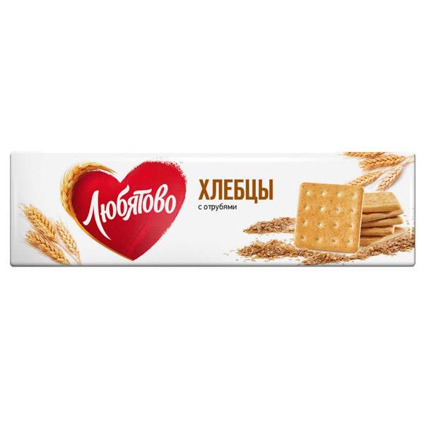 Хлебцы Любятово с отрубями 185 гр фото