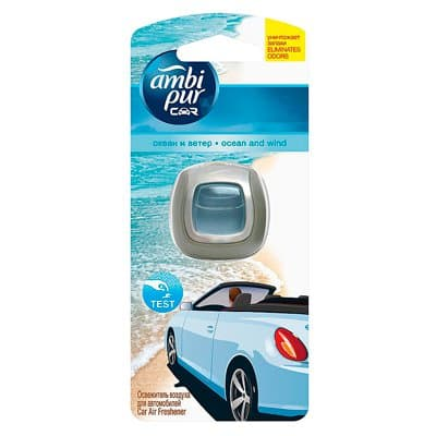 Ароматизатор Ambi Pur для автомобилей Океан и ветер