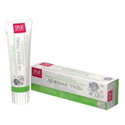 Зубная паста Splat лечебные травы 100мл фото
